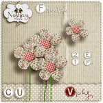 Scrapbook mini kit Vichy by Noshay