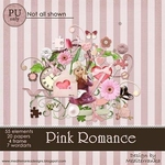 Scrapbook freebie PINK ROMANCE from Mediterranka