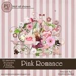 Scrapbook freebie PINK ROMANCE from Mediterranka