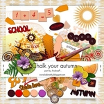 Chalk Your Autmn Collab Kit Elements by AndreaP
