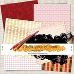 Chalk Your Autmn Collab Kit Papers by AndreaP