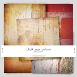 Chalk Your Autmn Collab Kit Papers by Sillwan