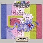 """Free scrapbook mini kit """"Thinking about you"""" from violamoni"""