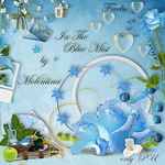 "Freebie ""Blue in the Mist"" by  Molemina"