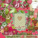 "Free scrapbook ""Secret Garden"" from Regina Falango Full SIze"