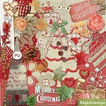 Free scrapbook christmas kit 2 from Regina Falango