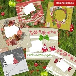 Free scrapbook christmas quick pages from Regina Falango