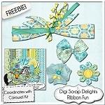 Scrapbook Freebie- Carousel Add on Pack from Digi Scrap Delights