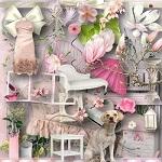 Free scrapbook romantic kit 2  from Miriams-scrap