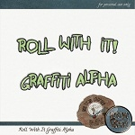 "Free scrapbook blog train ""Roll With It"" from Keystonescraps"