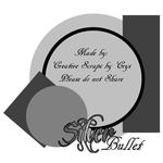 """Scrapbook Freebie Layout """"Silver Bullet"""" by sinfullycreativescraps"""