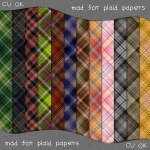 Free digital plaid papers from scrapitstudio