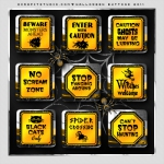 Free digital scrapbook Halloween elements from scrapitstudio