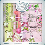 "Free scrapbook collab kit ""Be a woman"" by natesia"