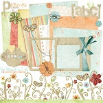 "Free digital scrapbook kit ""Promise"" from ShabbyPrincess"