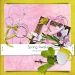 "Free scrapbook collab part ""Spring Awake"" from Verulinka"