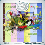 "Free scrapbook collab kit ""Wellcome Springtime"" from  bibi1980"