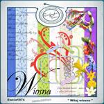 "Free scrapbook collab kit ""Wellcome Springtime"" by ewcia24"
