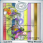 "Free scrapbook collab kit ""Wellcome Springtime"" from  izak1979"
