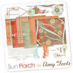 "Free scrapbook ""Sun Porch"" by ShabbyPrincess"