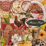 Free scrapbook terracotta kit from Miriams-scrap
