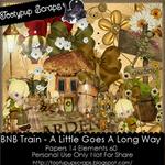 """Scrapbook Freebie """"Garden"""" by tootypupscraps"""