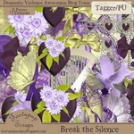 "Scrapbook Freebie ""Break the Silence"" by tootypupscraps"
