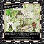 """Scrapbook Freebie """"Awareness"""" by tootypupscraps"""