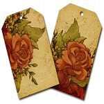 "Free scrapbook ""Flower tags"" from Call me Victorian"