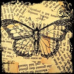 "Free scrapbook ""Vintage Butterfly"" from Call me Victorian"
