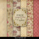 Vintage background kit from farfarhill