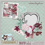 """Best friends forever"" cluster freebie from ViolaMoni"