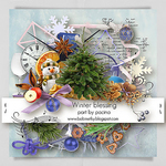 Winter Blessing Elements by Pacina Megakit Part
