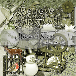 Free scrapbook christmas kit 2 from Miriams-scrap